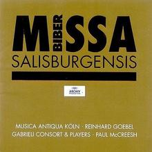Biber Missa Salisburgensis CD) Gabrieli Consort and Players Musica Antiqua Koln