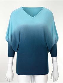 Bonprix Sweter dzianinowy jasnoniebieski