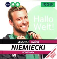 Pons Słuchaj i mów Niemiecki Podstawy - LektorKlett