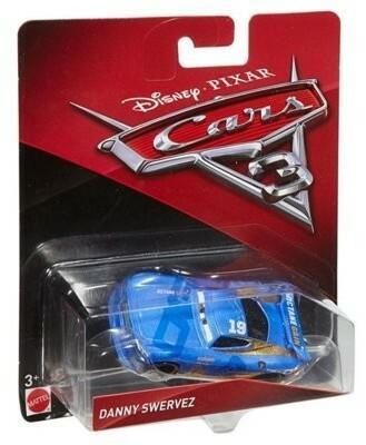 Mattel Auta 3 Cars Daniel Swervez DXV42 DXV29 DXV42