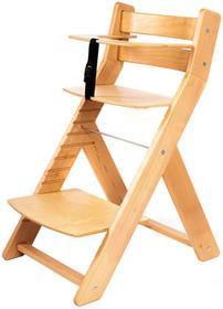 Wood Partner Krzesło rosnące dla dzieci UNIZE naturalny/naturalny