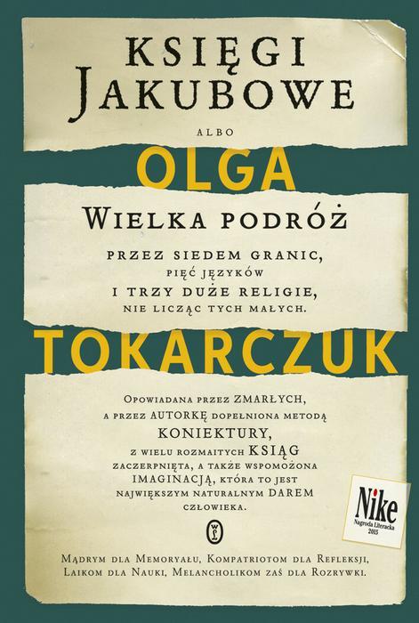 Wydawnictwo Literackie Księgi Jakubowe - Olga Tokarczuk