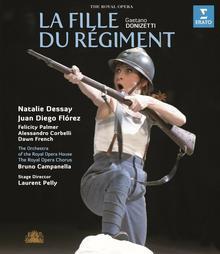 Donizetti La fille du regiment Blu-ray) Natalie Dessay Juan Diego Florez
