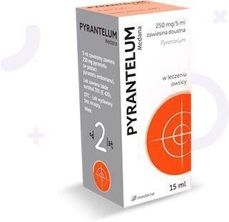 Medana PHARMA SPÓŁKA AKCYJNA Pyrantelum zawiesina przeciw owsikom 0,25 g/5ml 15 ml