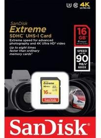 SanDisk SDHC Extreme Class 10 16GB