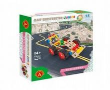 Mały konstruktor Junior - Wyścigówka ALEX