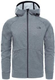 The North Face Kurtka polarowa VERSITAS HOODIE MEN medium grey heather