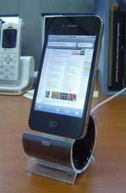 Sinjimoru Docking Station Sync-Station Różowy do modelu iPhone & iPod Syncstand
