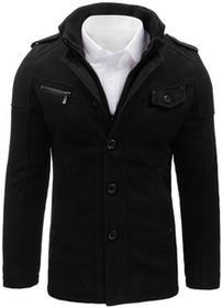 Dstreet Płaszcz męski czarny (cx0364) cx0364_m