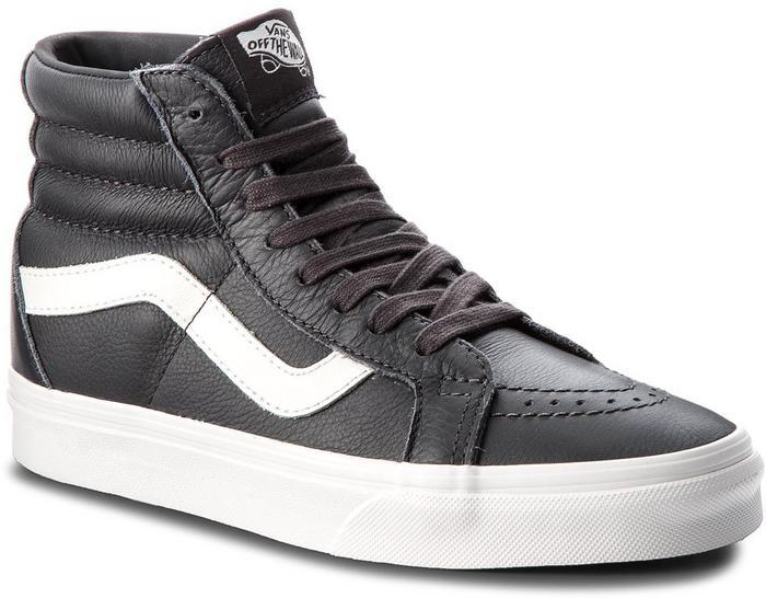 b105e41614 Vans Sneakersy Sk8-Hi Reissue VN0A2XSBQD1 (Leather) Asphalt Blanc D - Ceny  i opinie na Skapiec.pl