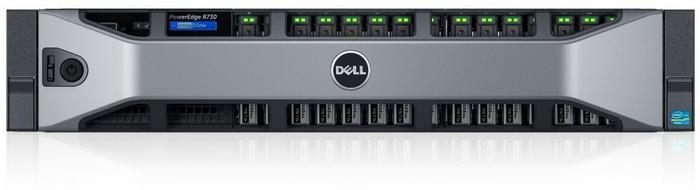 Dell Serwer PE R730|Chassis 8x 2.5|E5-2620 v3|1x 8G PER73007