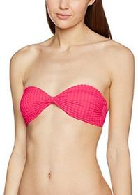 d1f79a8898 -27% New Look damskie bikini gingham Twist bandeau - 42 czerwony (bright  red) B01MZGFWOR