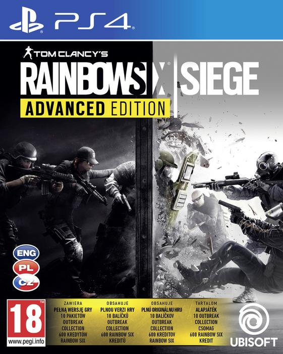 Tom Clancys Rainbow Six Siege Advanced Edition PS4