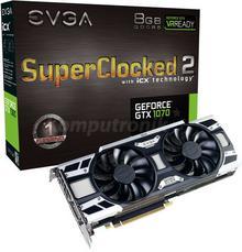 EVGA GeForce GTX 1070 SC 2 Gaming