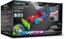 Laser Pegs 8 in 1 Buldożer