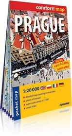 ExpressMap praca zbiorowa comfort! map Praga. Mapa kieszonkowa. Kieszonkowy, laminowany plan miasta 1:20 000