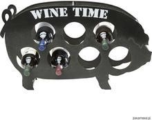 Stojak na wino Wine Rack Piggy - 7 butelek