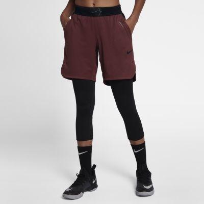 eleganckie buty kup dobrze różne wzornictwo Nike Damskie spodenki do koszykówki 20,5 cm - Czerwony ...