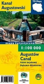 TD Mapy Kanał Augustowski Mapa turystyczna 1:100 000 - Agencja TD