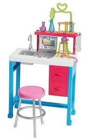 Mattel Barbie Zestaw mebelków Laboratorium Naukowe