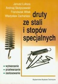 Druty ze stali i stopów specjalnych - Janusz Łuksza, Andrzej Skołyszewski, Franciszek Witek, Zachariasz Władysław