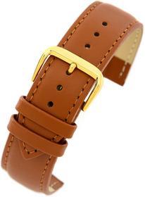 Pacific Pasek skórzany PACIFIC W30 do zegarka - w pudełku - brąz- 22mm