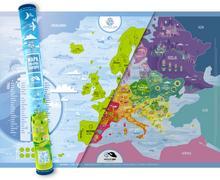Playprint Mapa zdrapka Europa - Playprint