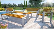 Komplet mebli ogrodowych 180cm Norin - 24 kolory