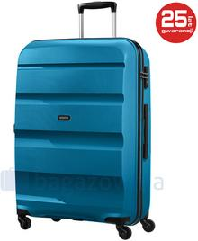 Samsonite AT by Duża walizka AT BON AIR 59424 Niebieska - niebieski