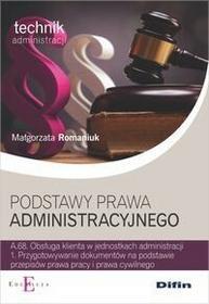 Difin Podstawy prawa administracyjnego - Małgorzata Romaniuk
