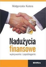 Difin Nadużycia finansowe - Małgorzata Kutera
