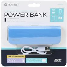 Platinet Power Bank leather 7200mAh Blue [43413] PMPB72LBL