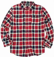 Grizzly koszula Outfield Ls Woven Red RED) rozmiar XL