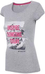 4F Women's T-shirt H4Z17-TSD002GREY