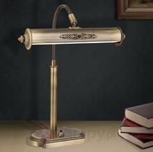 Orion Lampa biurkowa Picture, postarzany mosiądz