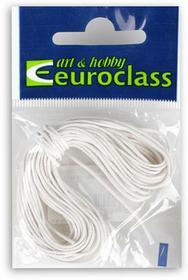 Pracht Pracht, sznurek bawełniany, biały 1 mm, 5 m