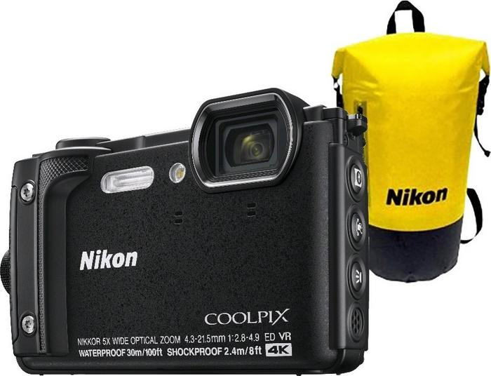 Nikon COOLPIX W300 Czarny Holiday kit