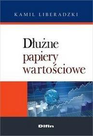 Dłużne papiery wartościowe - Liberadzki Kamil