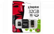 Kingston Micro SD Class 10 + adapter 32GB
