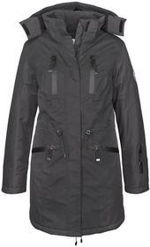 Bonprix Długa kurtka funkcyjna outdoorowa szary