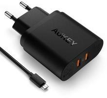 Aukey adowarka sieciowa PA-T16 2x USB