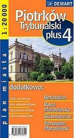 Piotrków Trybunalski - plan miasta (skala 1:20 000) - Praca zbiorowa
