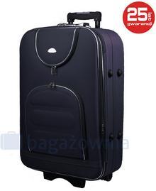 PELLUCCI Średnia walizka PELLUCCI 801 M - Granatowy - granatowy