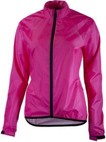 Rogelli TELLICO damska kurtka rowerowa przeciwdeszczowa fluor różowy