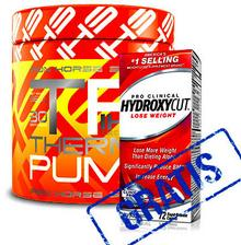 Iron Horse Thermo Pump 360g + Hydroxycut Pro Clinical Caffeine Free