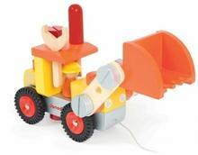 Janod drewniany spychacz buldowżer truck
