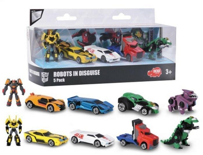 Dickie Transformers 5 pack 2 rodzaje 203113015