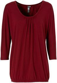 """Bonprix Shirt """"oversize"""" jeżynowo-czerwony"""
