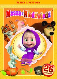 Galapagos Pakiet Masza i Niedźwiedź DVD) Oleg Kuzovkov