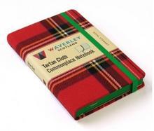 Waverley Scotland Tartan Cloth Commonplace Noteboo Royal Stewart: Waverley Genuine Tartan Cloth commonplace notebook (9cm x 14cm) WS1409RS
